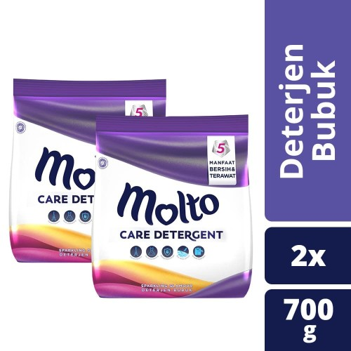 Foto Produk Molto Detergent Sparkling Glamour 700G Twin Pack dari Unilever Official Store