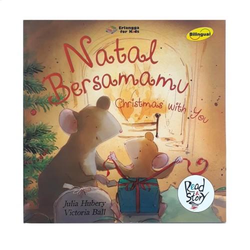 Foto Produk Buku Cerita Bilingual NATAL BERSAMA MU Christmas With You Kado Natal dari Sahabat Buku Anak