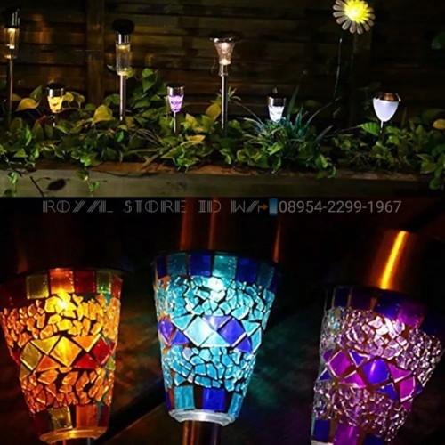 Jual 4pc Lampu Taman Mini Tenaga Surya Bahan Stanlisteel Lampu Taman Rgb Kab Brebes Royal Store Id Tokopedia