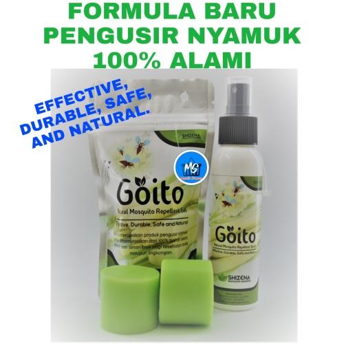 Foto Produk PAKET GOITO GEL dan SPRAY - PAKET PENGUSIR NYAMUK ALAMI GEL (70g) dan dari MenikStore