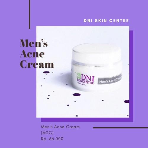 Foto Produk DNI MEN's ACNE CREAM (ACC) / krim malam cowok berjerawat dari dni skin centre