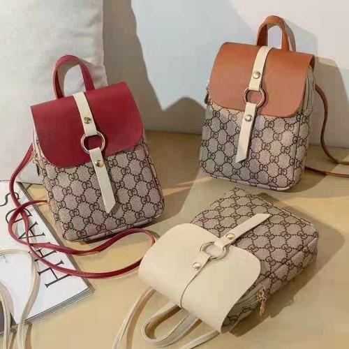 Foto Produk T411 Tas Sling Bag Wanita NEW FASHION Korea Kotak Mini Import Murah - Putih dari angel-city