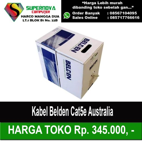 Foto Produk Kabel Belden Cat5e Australia dari Supernova Computer Ariet