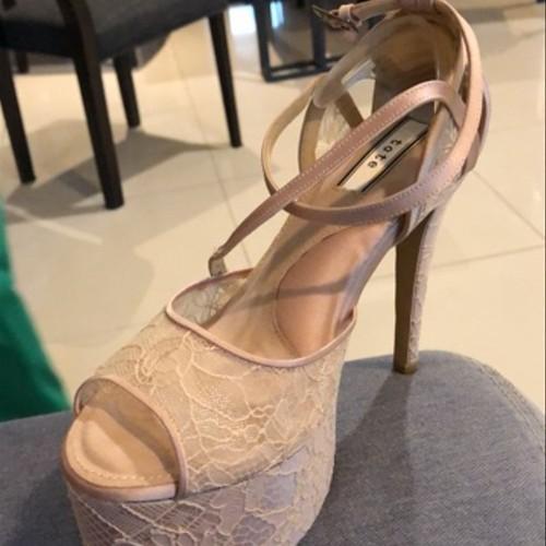 Jual Comfortable Wedding Shoes 15cm Heels Size 37 Jakarta Barat Diandra Reno Tokopedia