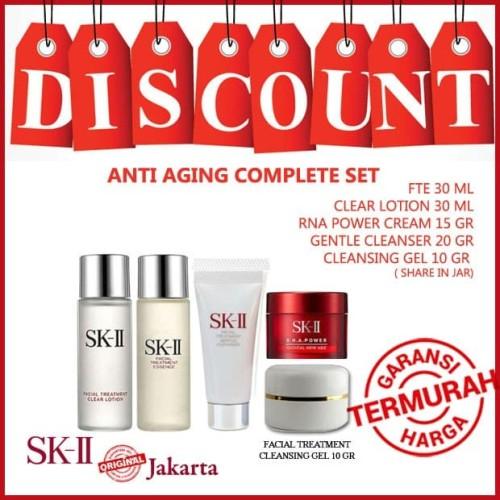 Foto Produk SK-II Pitera Anti Aging Complete Set Original dari SK-II Jakarta