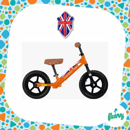 Foto Produk London Taxi - Balance Bike   Push Bike   Kick Bike   KickBike - Orange dari fluVVy - BabyShop
