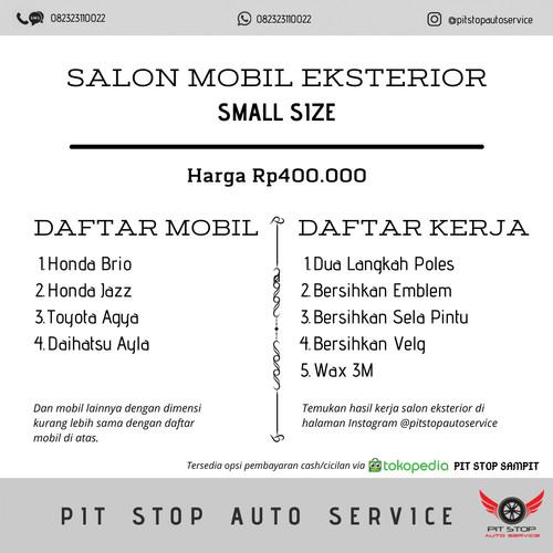 Jual Jasa Salon Mobil Ukuran Kecil Kab Kotawaringin Timur Pit Stop Sampit Tokopedia