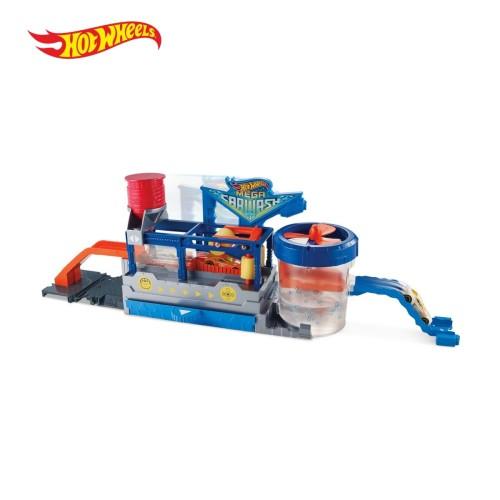 Foto Produk Hot Wheels Mega Car Wash - Mobil Mainan Anak dari Hot Wheels Flagship