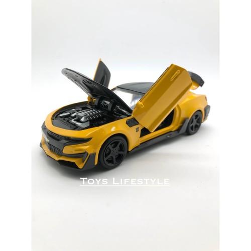 Foto Produk MiniAuto Chevrolet Camaro 2016 Bumble Bee Skala 1:32 dari Toys Lifestyle