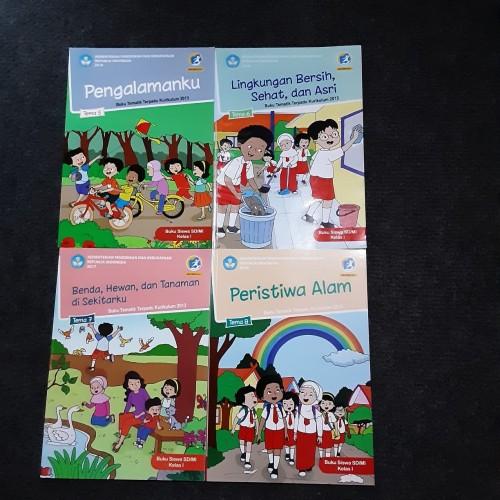 Foto Produk Paket Buku Tematik SD Kelas 1 Semester 2 K 13 Rev 2018 Tema 5 6 7 8 dari Buku Satu Online