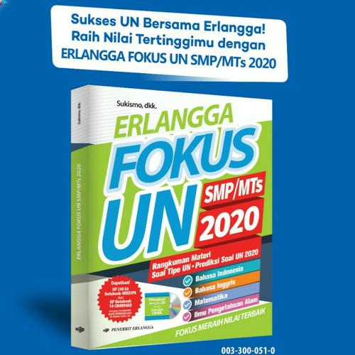 Jual Buku Erlangga Fokus Un 2020 Smp Mts Ori Jakarta Timur Tokofulu Tokopedia