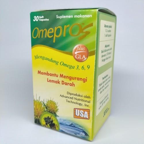 Foto Produk Omepros 30 Kapsul, Menurunkan Kolesterol, Hipertensi, Mencegah Stroke dari blinkpink