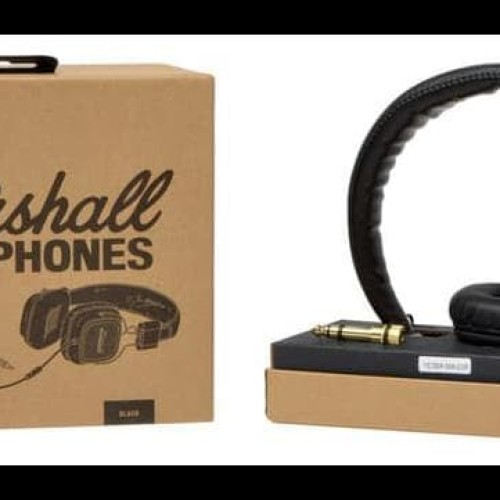 Foto Produk Headphone Marshall Major Premium Headphone Quality + Bonus Pouch dari prasetya9