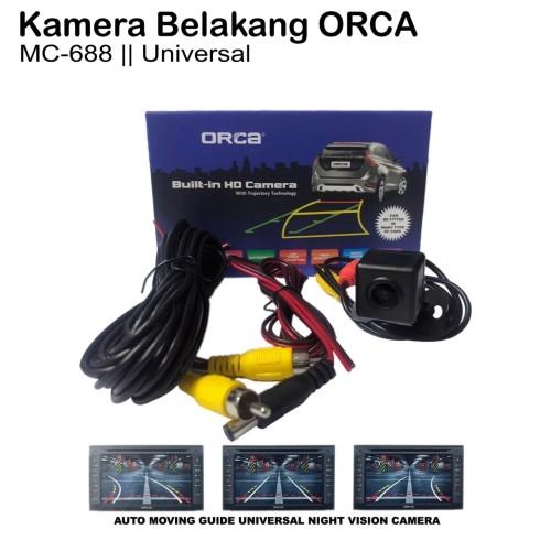 Foto Produk Kamera-Camera Belakang Parkir HD CCD Mobil ORCA-MOVING MC-RC-688 dari Sukses Indo Variasi