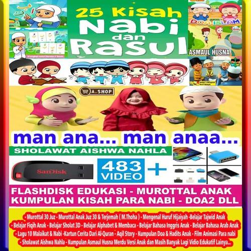 Foto Produk FLASHDISK ANAK MUSLIM - VIDEO EDUKASI ANAK dari A. Shop