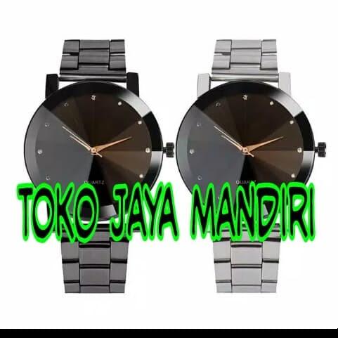 Foto Produk Jam Tangan Stainless Steel Fashion Pria Grosir Termurah Setokopedia dari tokojayamandiri84