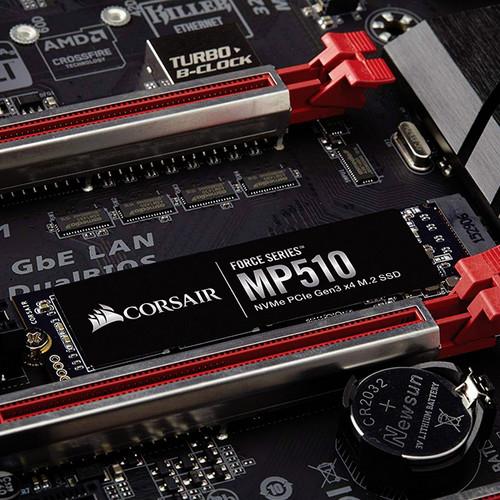 Foto Produk Corsair Force Series MP510 960GB M.2 NVMe PCIe CSSD-F960GBMP510 dari SOS SPORT ONLINE SHOP