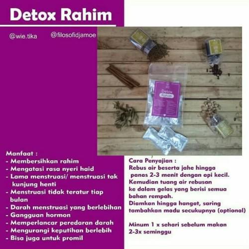 Foto Produk Detox Rahim/reproduksi JSR dari Filosofi Djamoe