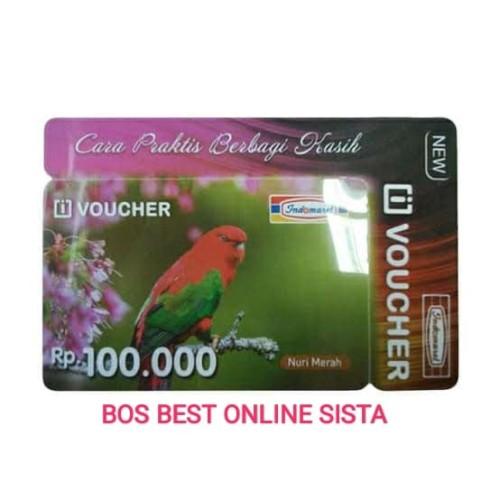 Foto Produk kartu indomaret 100000 dari BOS best online sista
