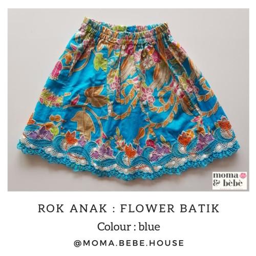 Foto Produk Rok Batik Anak Size #1-4 [Moma.Bebe.KebayaHouse] - Size 1 dari Moma & Bebe House