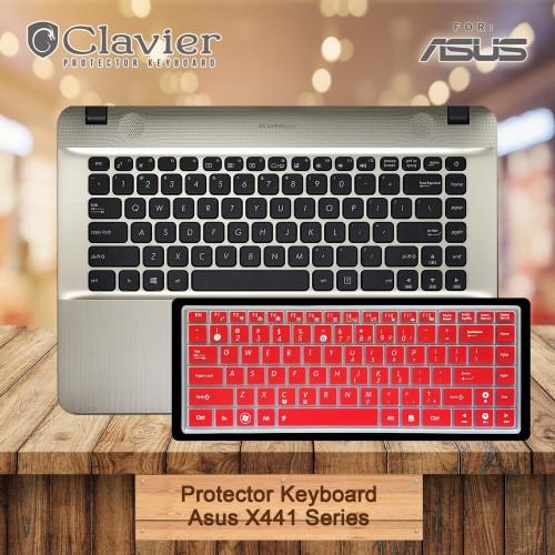 Foto Produk Keyboard Protector Cover Asus X441 X441B X441M X441U Keyboard Warna dari Clavier