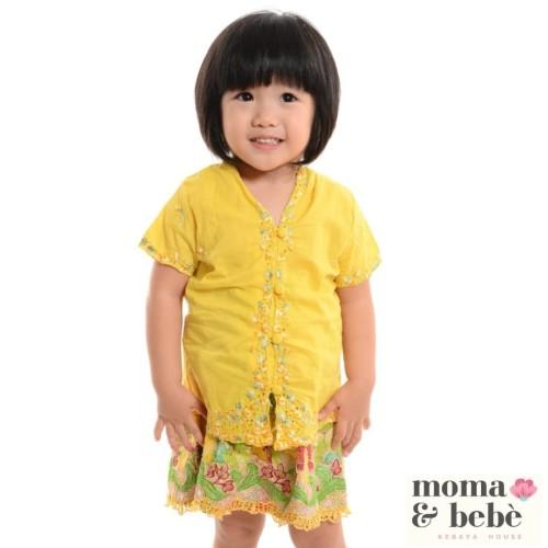 Foto Produk [Moma.Bebe.KebayaHouse] Atasan #S-XL Kebaya Encim Anak : corak Jasmine dari Moma & Bebe House