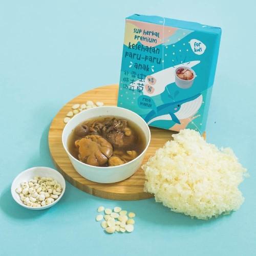 Foto Produk Sup Herbal Kesehatan Anak - Untuk Flu, Batuk, Asthma, dan Paru-Paru dari Herbaleo