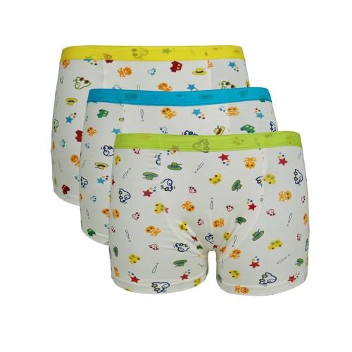 Foto Produk FlyKids Dino Boxer Anak   Underwear Anak Laki   FK 2087 1PACK ISI 3 - 6-7 tahun dari Flyman Nathalie Store