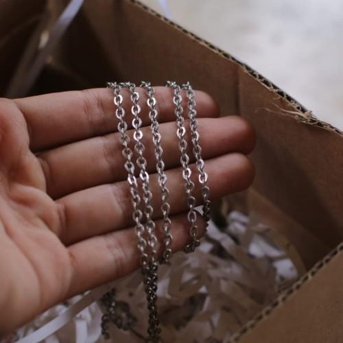 Foto Produk tamabahan gelang rantai stainles murni anti karat dari EVRIZ SOUVENIR and CRAFT