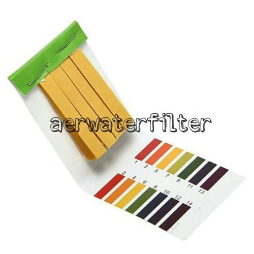 Foto Produk Kertas Lakmus PH Indicator / PH Tester dari AER WATER SHOP