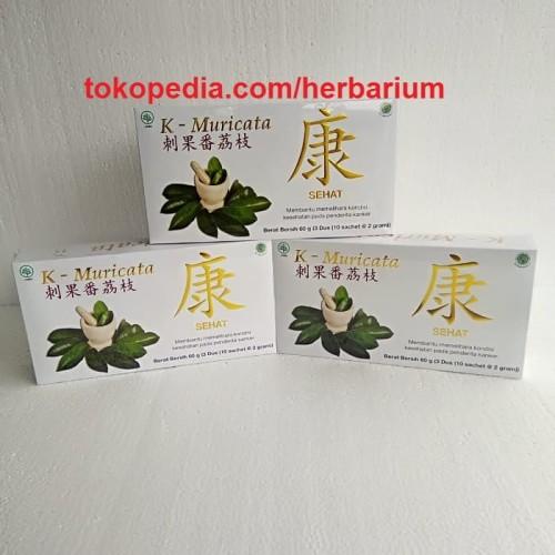 Foto Produk Teh Herbal K-Muricata / KMuricata Original Asli dari Herbarium