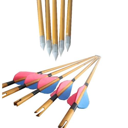 Foto Produk Anak Panah / Arrow (Bambu+point) dari Busur Panah Galeri
