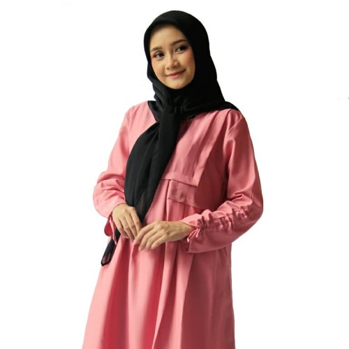 Foto Produk Tunik Rampel Dusty Pink dari Reeza.id