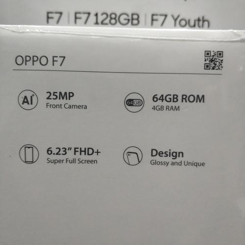 Foto Produk Handphone / HP Oppo F7 Original Garansi Resmi [RAM 4GB /Internal 64GB] dari putra.rak4