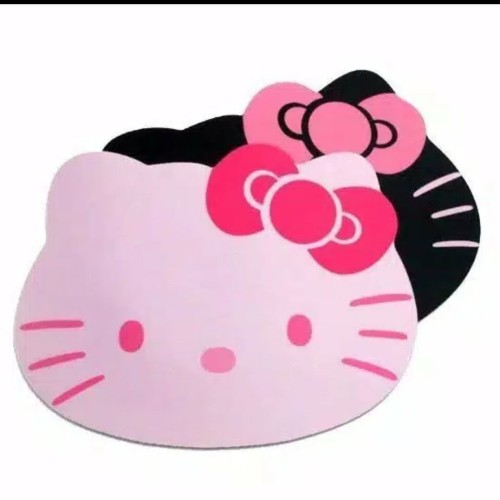 Foto Produk Mouse Pad Cantik Hello Kitty Warna Pink - Fuchsia dari good_price store 2