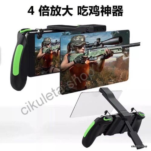 Foto Produk PUBG L1 R1 L1R1 Gamepad Amplifier plus Kaca Pembesar Game pad Trigger dari Cikuleta