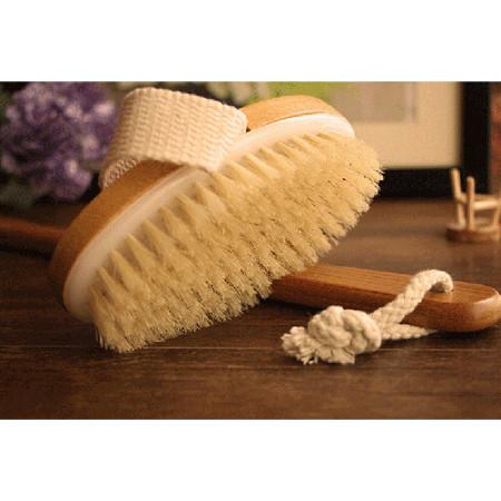 Foto Produk Dry Skin Back Body Brush Massager + Long Handle dari JPL CRAFT STORE