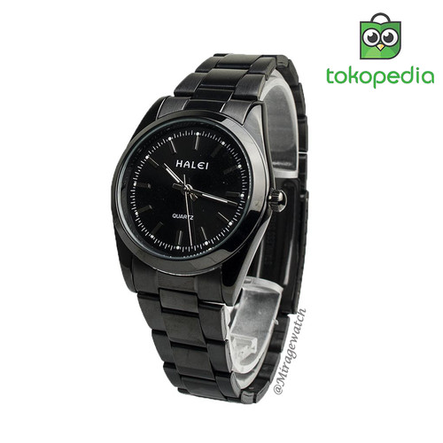 Foto Produk HaleiWatch Jam Tangan Model Terbaru 422M Full Black dari Mirage Watch