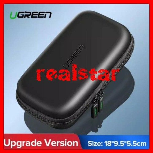 Foto Produk Ugreen Case Eva for Hard Disk Powerbank Earphone Hard Drive SSD LARGE dari Real Star