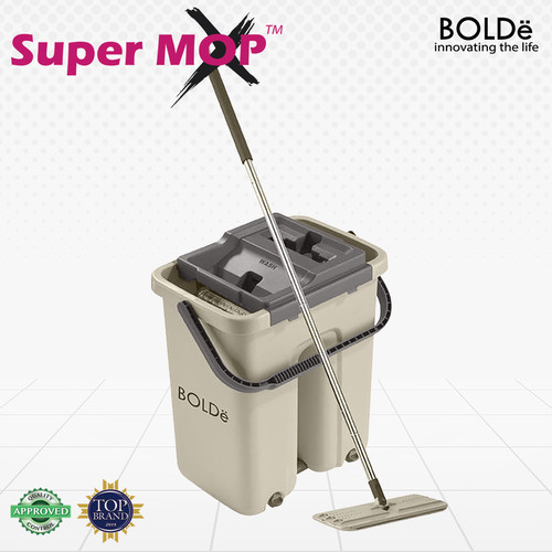 Foto Produk BOLDe Supermop X ( Alat Pel Lantai ) - Beige dari BOLDe Official Store