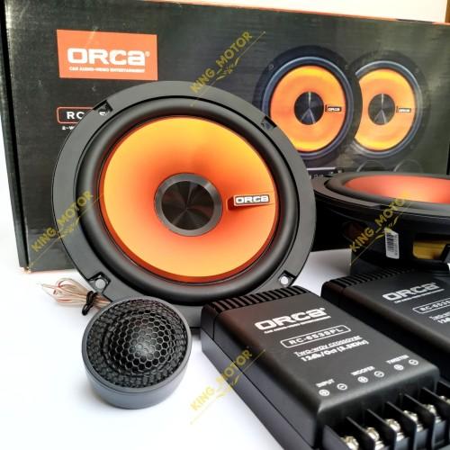 Foto Produk Speaker Comp Split 2-Way ORCA RC-653SPL/RC653SPL/653 dari KING_MOTOR