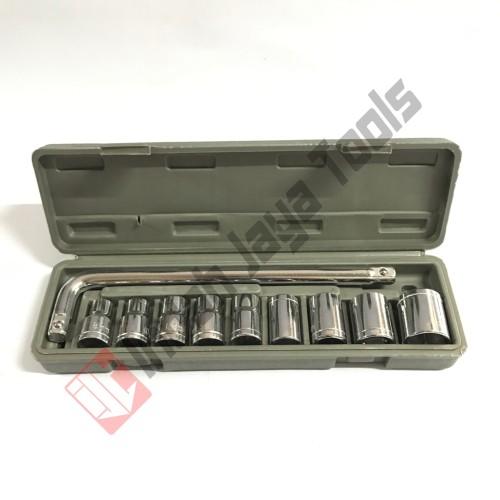 Foto Produk Kunci Sok Set 10 pcs RRC Motor Mobil dari Indah Jaya Tools
