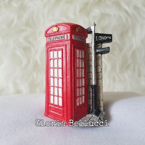 Foto Produk MAGNET KULKAS 3D TELEPHONE BOX BUS TENTARA LONDON INGGRIS dari Gloria Bellucci