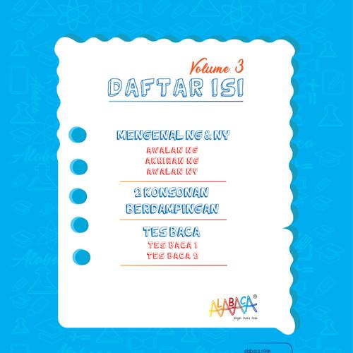 Foto Produk Buku Modul Calistung Anak PAUD, TK, SD dan Bimbel (Baca Vol. 3) dari e - Pedia