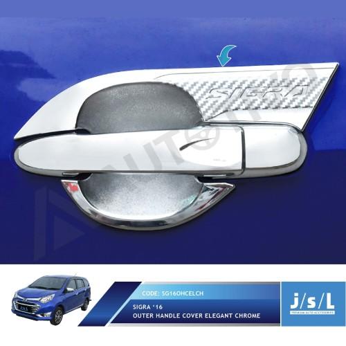 Foto Produk Outer Handle Cover Elegant Chrome JSL Daihatsu Sigra dari Era Otomotif