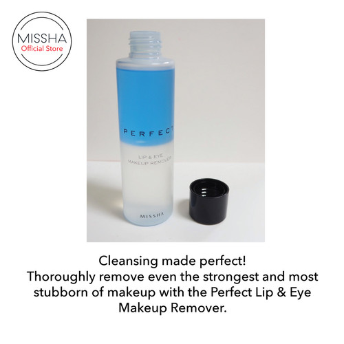 MISSHA Perfect Lip & Eye Make-Up Remover 3