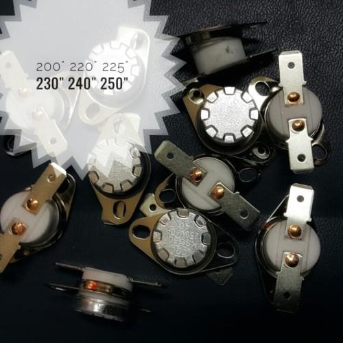 Foto Produk Thermostat / Bimetal 200 - 250 derajat celcius, 10a keramik (otomatis) dari Toko Boljug