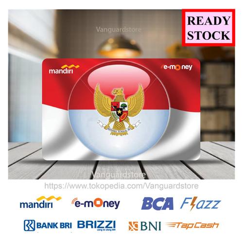 Foto Produk E-money Kartu Etoll BNI BRI BCA MANDIRI Garuda Indonesia - 1 SISI dari vanguardstore
