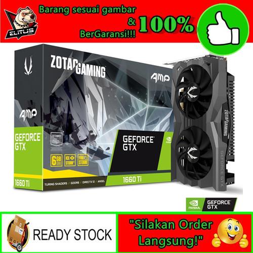 Foto Produk VGA ZOTAC GAMING GeForce GTX 1660 Ti 6GB GDDR6 dari ELITUS GAMING