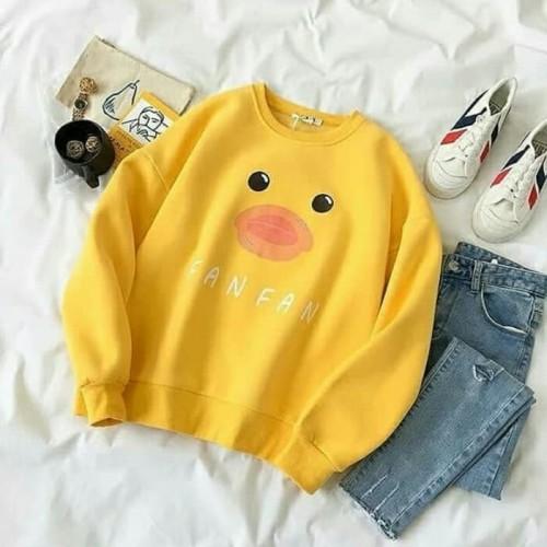 Foto Produk DaveFashion - Sweater Duck FAN FAN 3w - Kuning dari dave-fashion